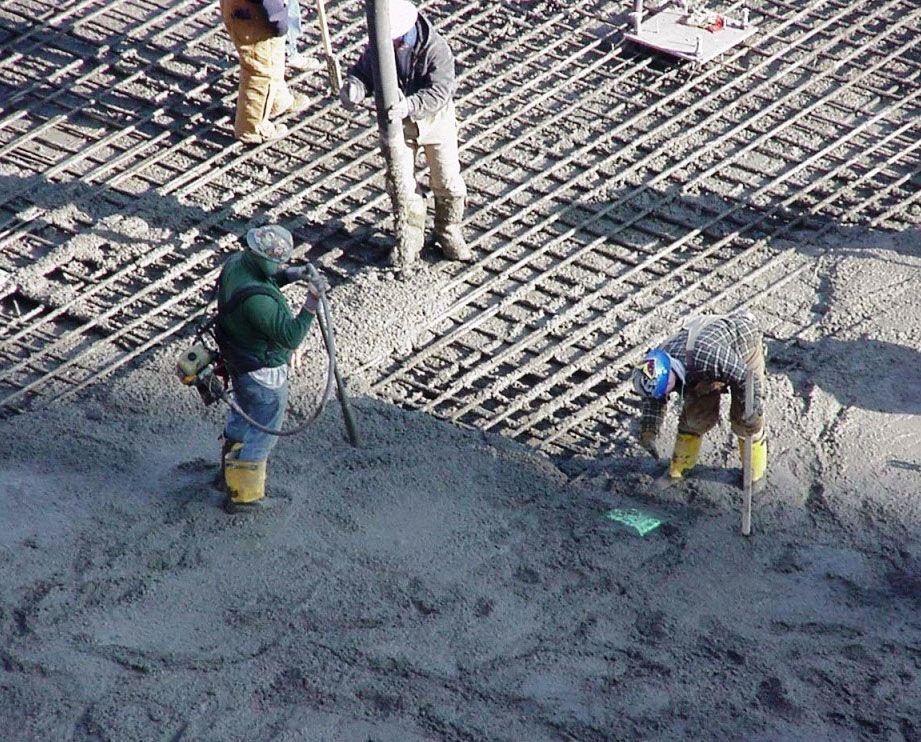 Поправка бетона что такое 1 кубометр керамзитобетона
