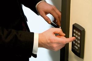 входные двери с контролем доступа