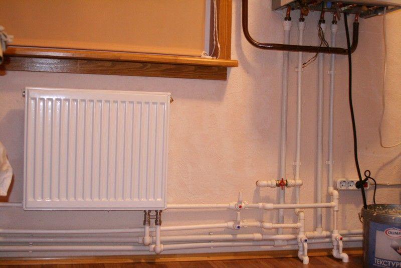 Видео отопление дома своими руками из полипропилена видео
