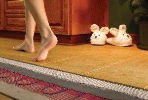 напольное покрытие под теплый пол