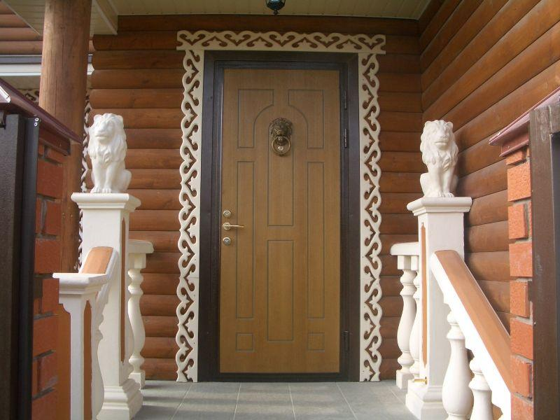 Как сделать входную дверь на дачу своими руками