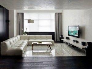 минимализм интерьер квартиры