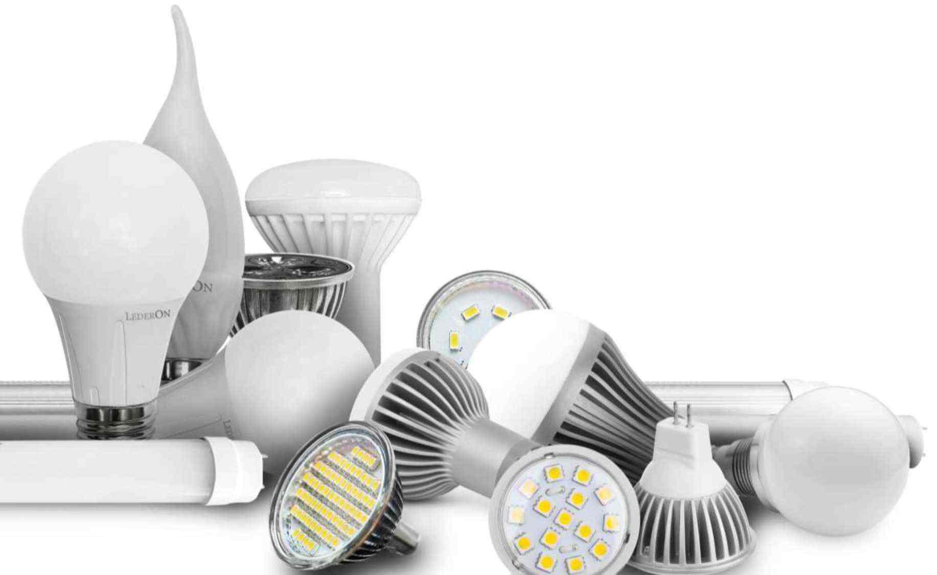 сколько электричества экономит led лампа