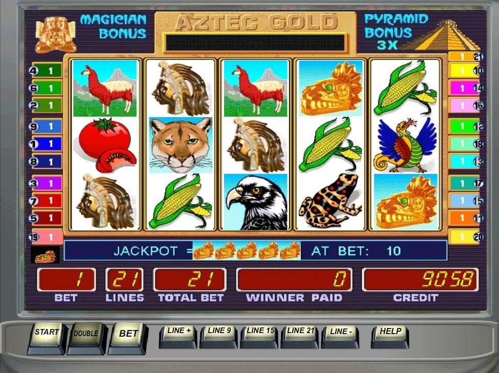 Игровые автоматы с бонусами на игру