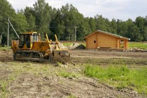 участок под строительство