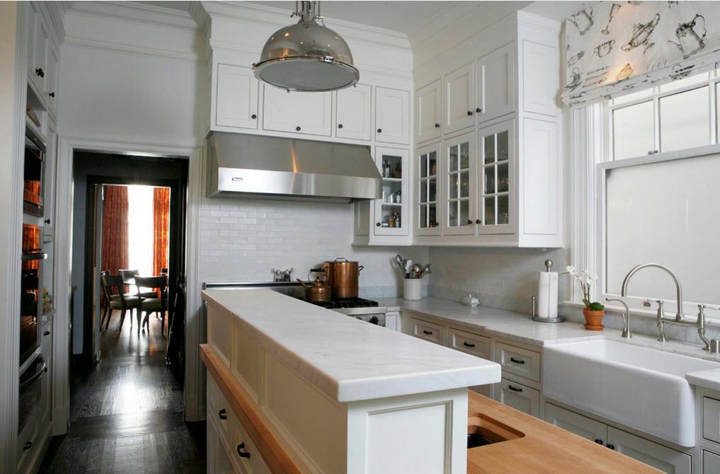 интерьер кухни маленькие фото