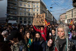 Сотрудники игорного бизнеса в Италии протестуют