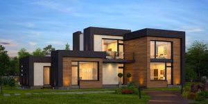 Строительство домов в современном стиле
