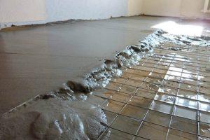 армирование бетона для стяжки пола